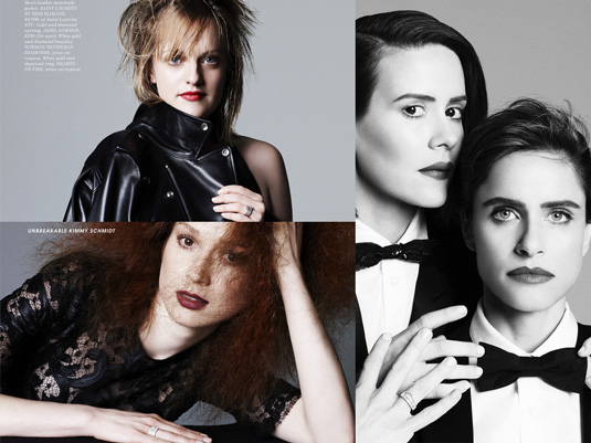 Elle Magazine Women in TV 2015