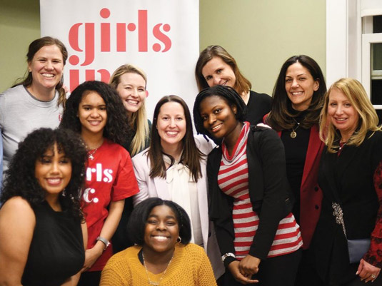 The Bay State Banner - Hearts On Fire and Girls Inc.