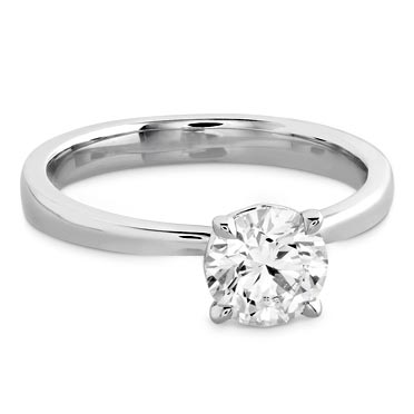 Hearts On Fire Solitaire Engagement Rings
