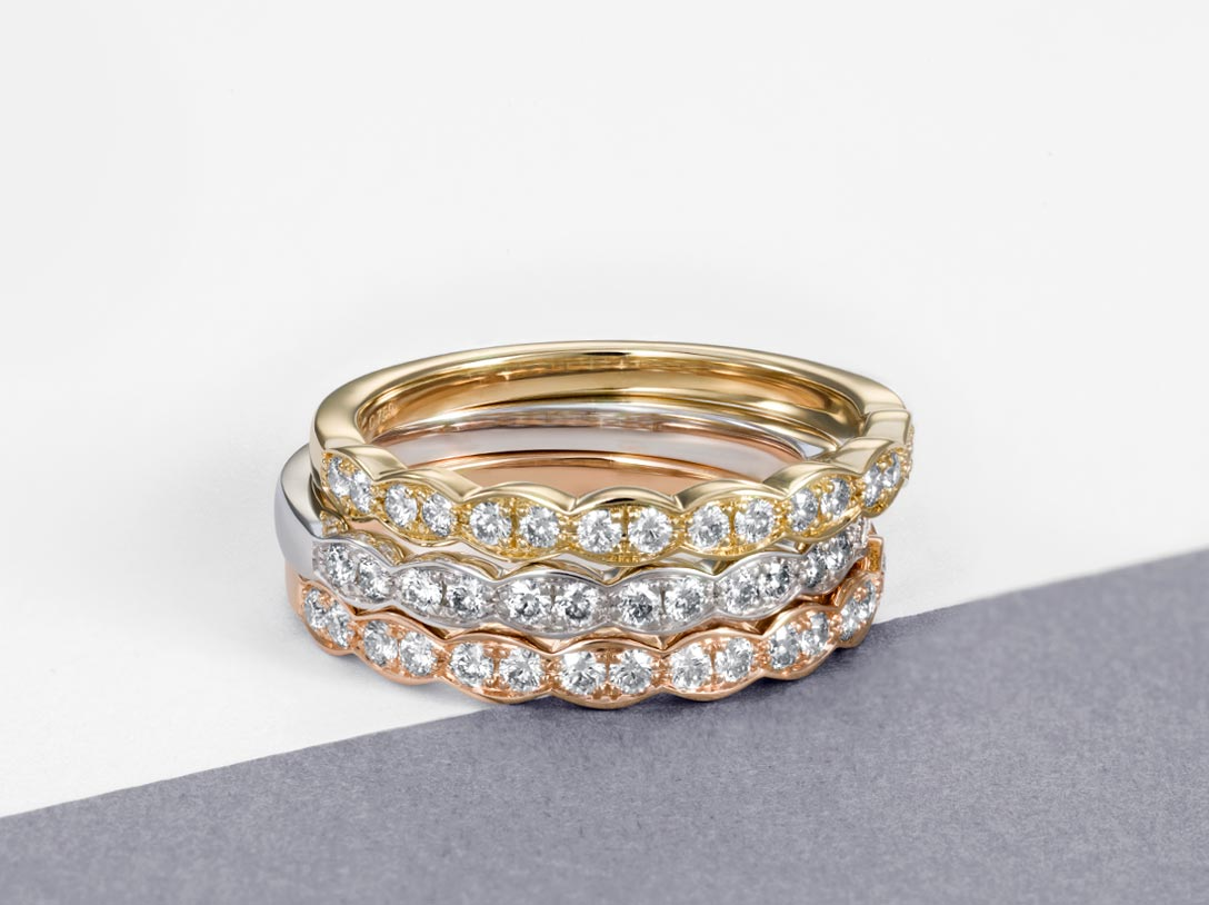 Wedding Bands And Diamond Jewelry Hearts On Fire