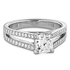 Adoration Dream Double Row Engagement Ring