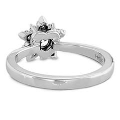Aerial Cluster Engagement Ring