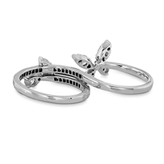 Aerial Double Ring - Diamond Intensive