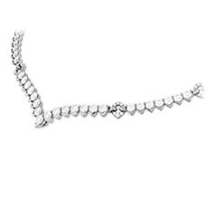Aerial Victorian Line Necklace