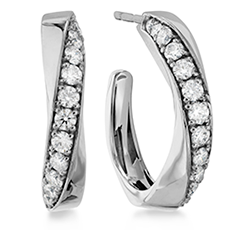 Atlantico Diamond Hoops