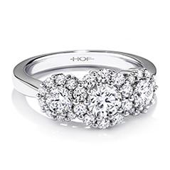 Beloved Three-Stone Engagement Ring