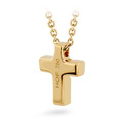 Charmed Cross Pendant