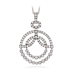 Copley Diamond Circle Pendant