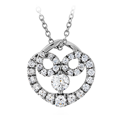 Copley Diamond Heart Pendant