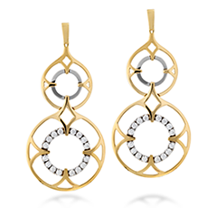 Copley Double Drop Earrings