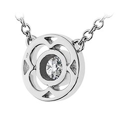 Copley Single Diamond Pendant