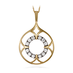 Copley Single Drop Pendant Necklace