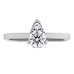 Desire Simply Teardrop Shape Engagement Ring