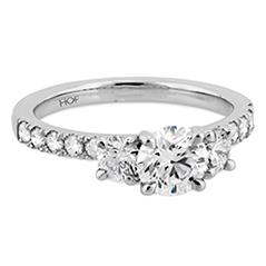 Destiny Three Stone Engagement Ring