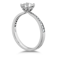 Dream Signature Engagement Ring-Diamond Band