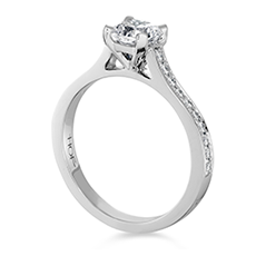 Enticement Channel Dream Engagement Ring