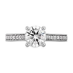Enticement Channel Engagement Ring