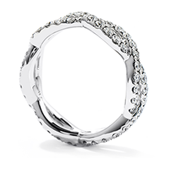 Envelop Split Shank Eternity Band