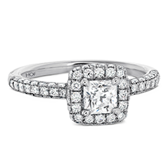 Euphoria Dream Pave Engagement Ring