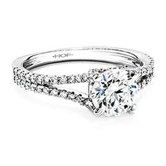 Felicity Split Shank Diamond Engagement Ring