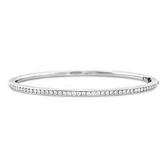 HOF Classic Channel Diamond Bangle - 160