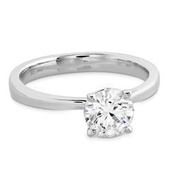 HOF Signature Solitaire Engagement Ring