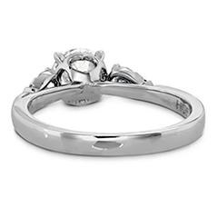 HOF Signature Three Stone Engagement Ring