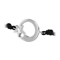 Illa Circle Cord Bracelet