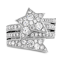 Illa Wraparound Diamond Comet Ring