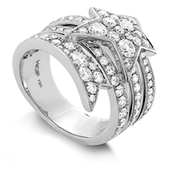 Illa Wraparound Diamond Comet Ring