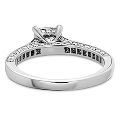 Illustrious Dream Engagement Ring-Diamond Intensive Band