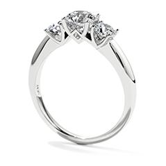 Insignia Three Stone Engagement Ring
