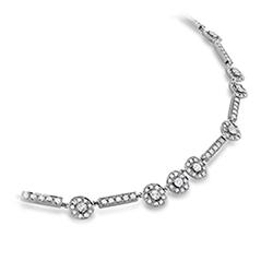 Inspiration Single Halo Necklace