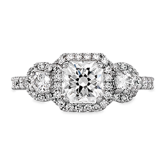Integrity Three-Stone Engagement Ring