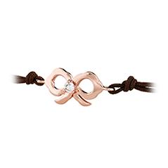 Lorelei Bow Cord Bracelet