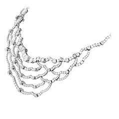 Lorelei Chandelier Diamond Necklace