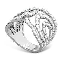 Lorelei Diamond Interlocking Ring