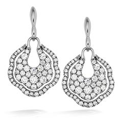 Lorelei Diamond Pave Drop Earrings