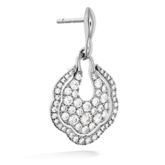 Lorelei Diamond Pave Drop Earrings