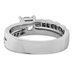 Lorelei Dream Single Cross Over Engagement Ring