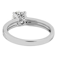 Lorelei Engagement Ring-Diamond Band