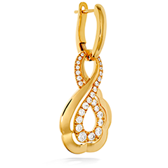 Lorelei Gold Infinity Earrings