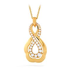 Lorelei Gold Infinity Pendant