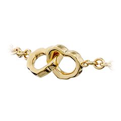 Lorelei Interlocking Heart Bracelet