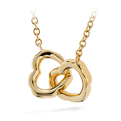Lorelei Interlocking Heart Necklace