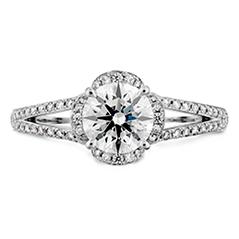 Lorelei Split Shank Engagement Ring