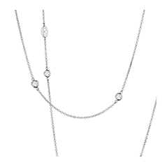 Obsession Three-Station Necklace