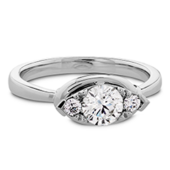 Optima Regal Engagement Ring - Horizontal