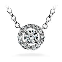 Repertoire Circle Pendant Necklace