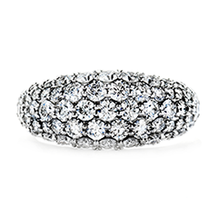 Silk Pave Right Hand Ring